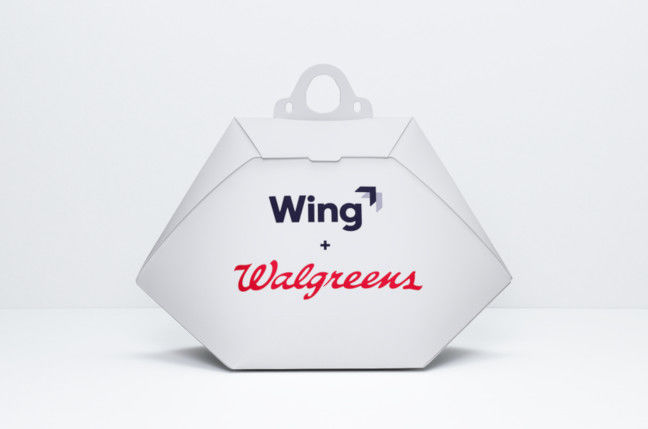 Wing's Walgreens payload container